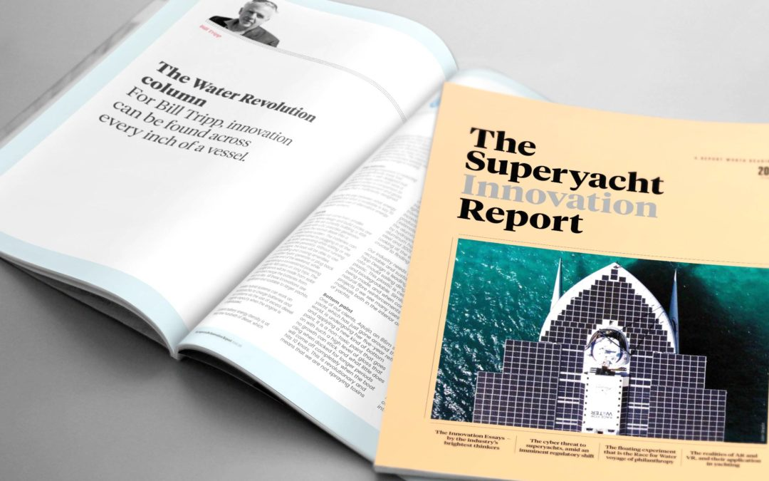 The Superyacht Report: Innovation across every inch of a vessel