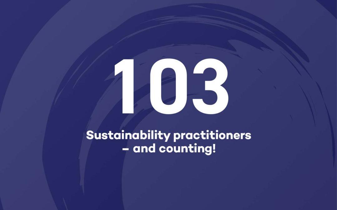 We celebrate over 100 sustainable practicioners
