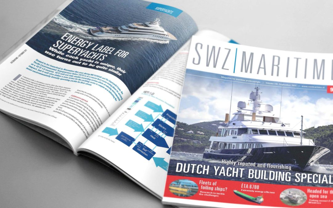 Energy labels for superyachts by YETI